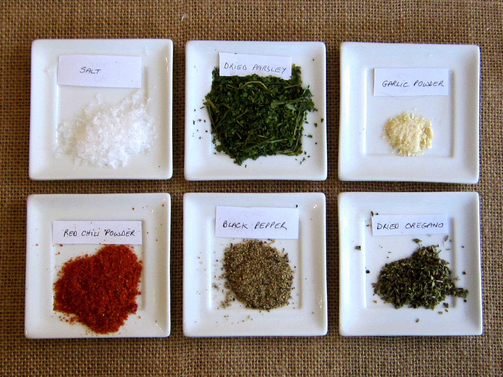 Dehydrated Chimichurri Mix